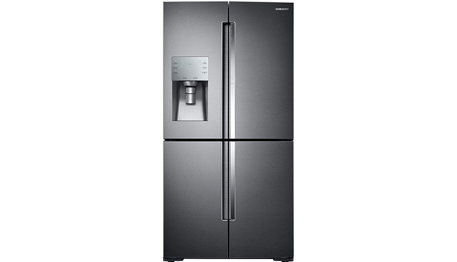 Samsung Rf28k9380sg Frost Free Side By Side Double Door Refrigerator