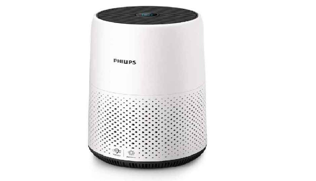 பிலிப்ஸ் AC0820/20 Portable Room Air Purifier  (White)