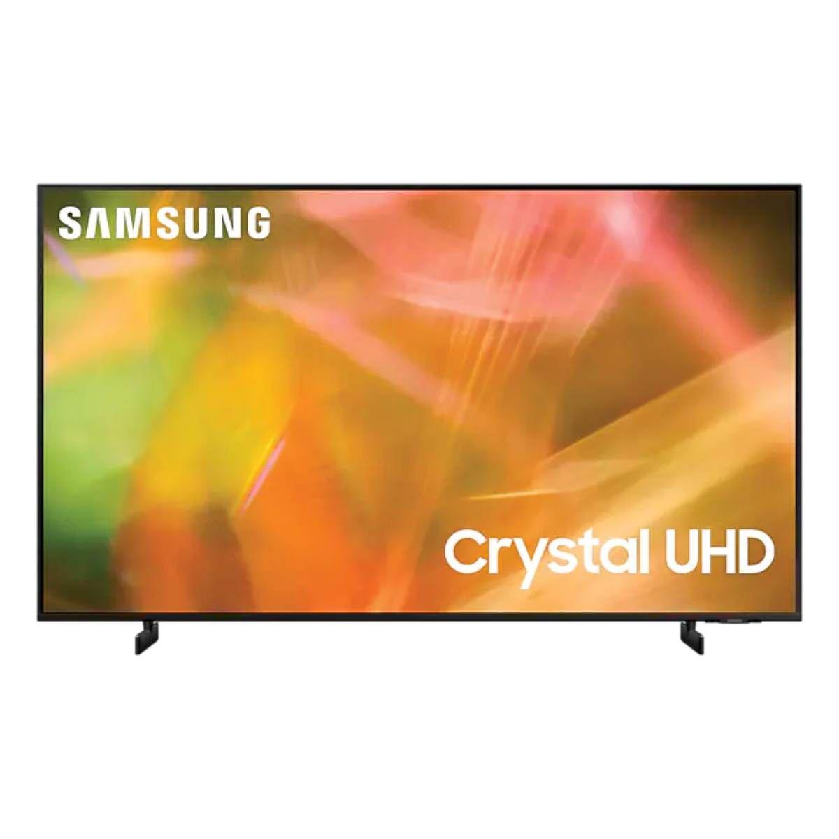 सैमसंग AU8000 55-inch Crystal 4K UHD टीवी
