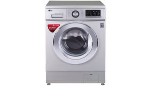 LG 9  Fully Automatic Front Load Washing Machine Silver (FH4G6VDNL42)