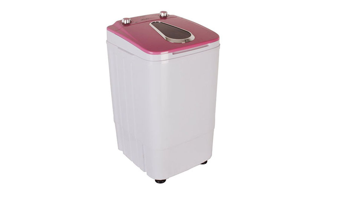 Hussen 3  Mini Washing Machine with Dryer Basket
