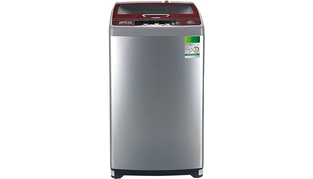 हैएर 6.5  Fully Automatic महत्त्वाचे Load Washing Machine Silver (HWM65-707NZP)