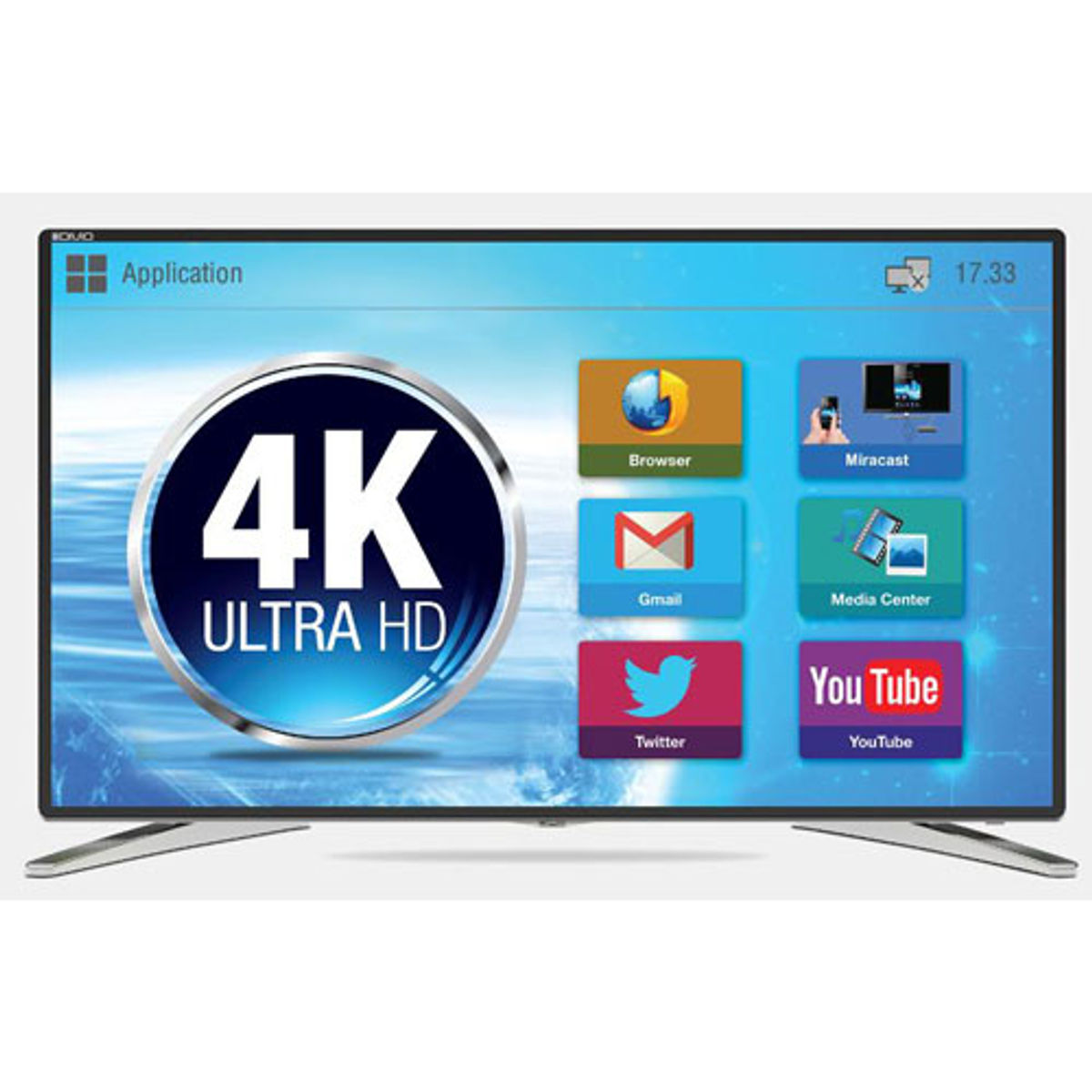 Mitashi MiDE055v22 FS 55 inch Ultra HD 4K Smart LED TV