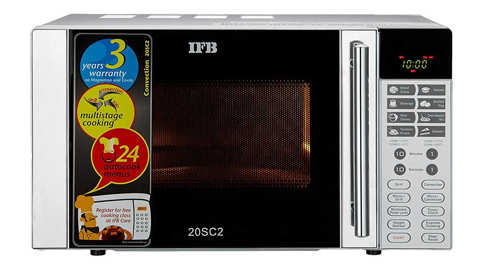 Ifb 20 L Convection Microwave Oven 20sc2 Price In India