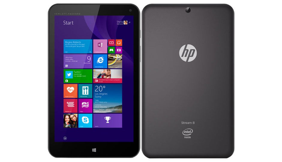 HP Stream 8 Price in India, Specification, Features