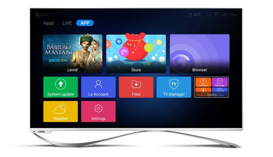 Leeco Super3 X55 4k Smart Led Tv Price In India