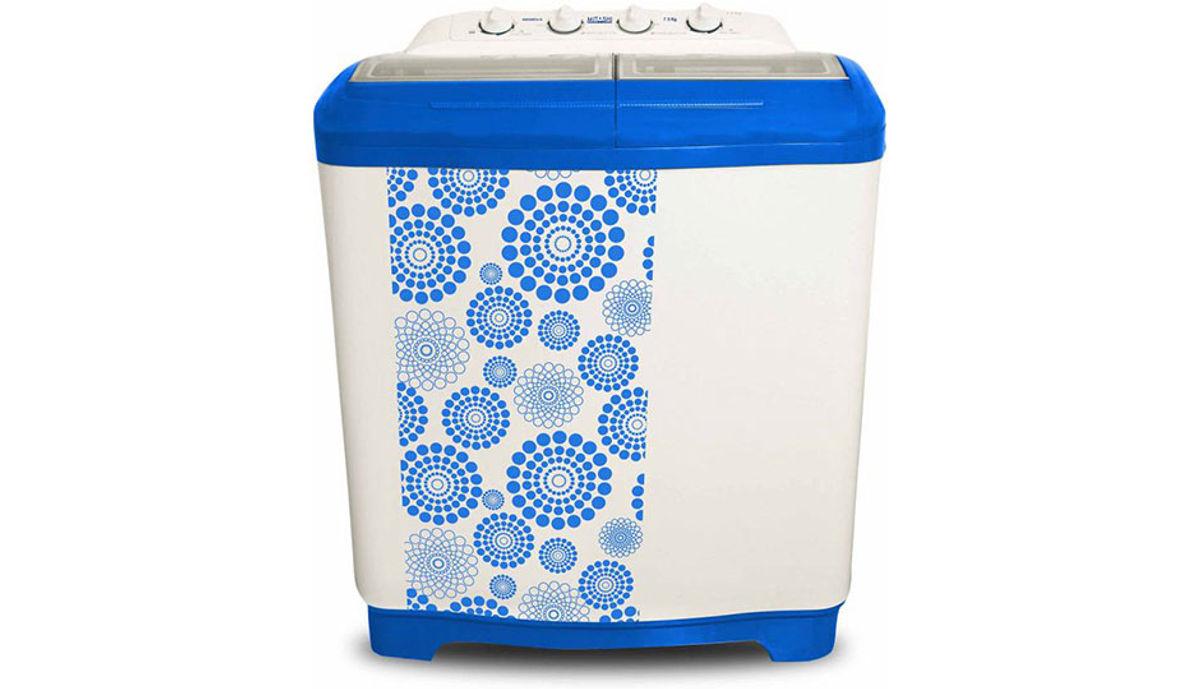 மிதாஷி 7.5  Semi Automatic மேலே Load Washing Machine White, Blue (MiSAWM75v10)