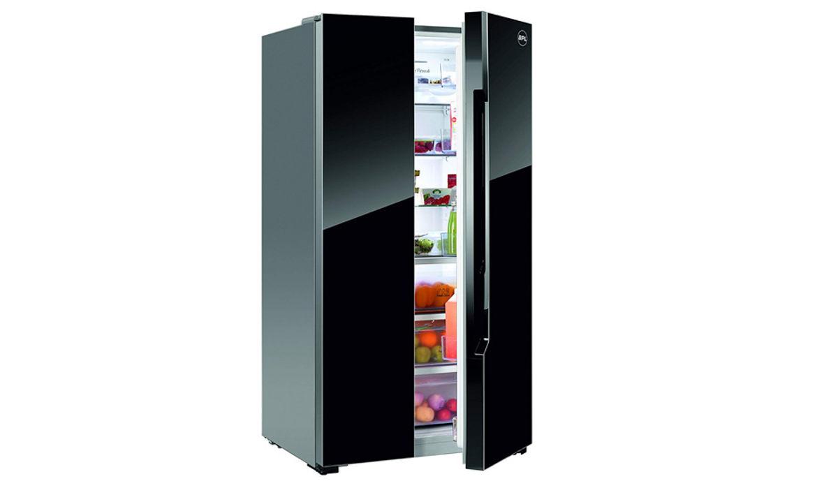 BPL 690 L Frost-Free Side-by-Side Refrigerator Black (R690S2)