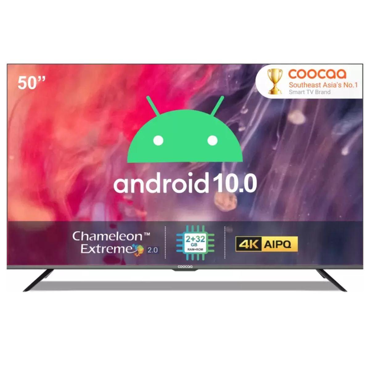 Coocaa 50 அங்குலம் 4K LED Smart டிவி with 10.0 கேள்வி  (50S6G Pro)