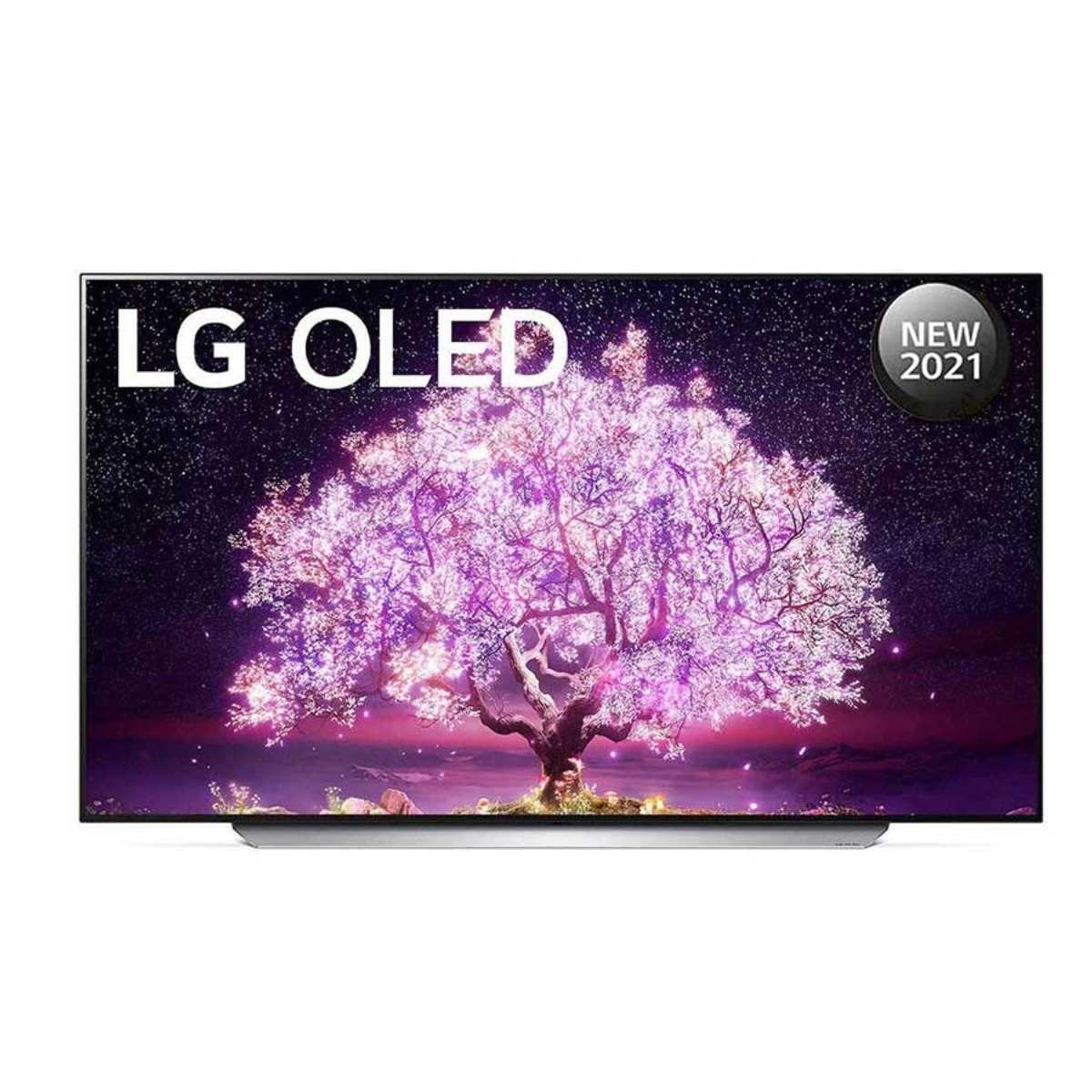 LG C1 77-inch 4K OLED TV