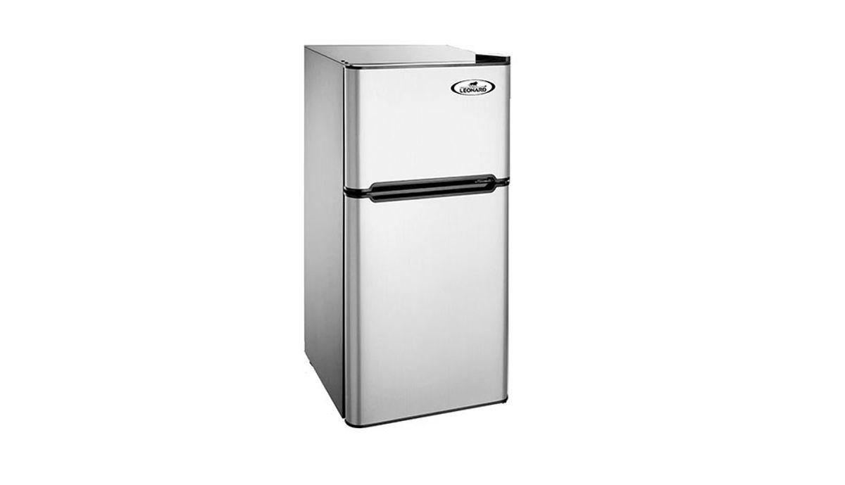Leonard-Usa Mini रेफ़्रिजरेटर 120L Double Door With Separate Freezer Compartment