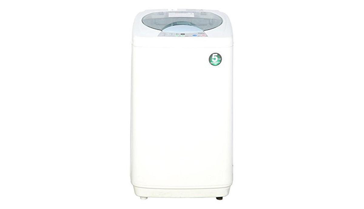 हैएर 5.8 kg Fully-Automatic महत्त्वाचे Loading Washing Machine White (HWM58-020)