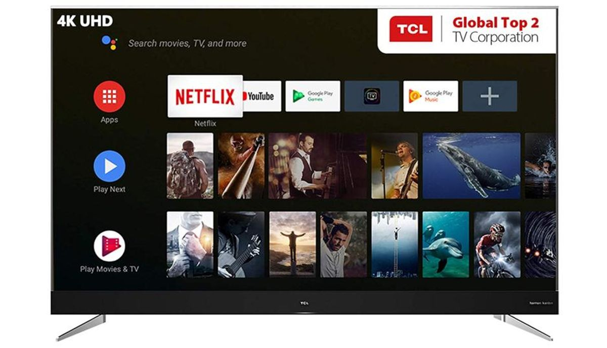 Tcl 75 Inches 4k Ultra Hd Led Smart Tv 75c2us Tv Price In India Specification Features Digit In