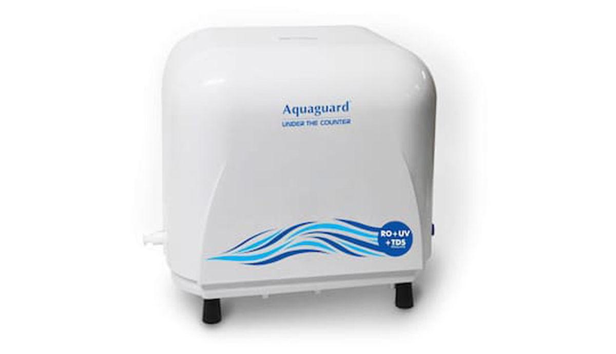 Eureka Forbes Aquaguard UTC RO+UV+MTDS 8 L RO+UV Water Purifier Accessories (White)
