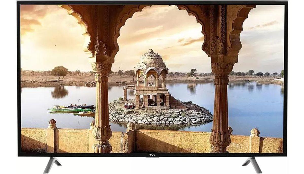 टीसीएल 123.2cm (49 inch) Full HD LED Smart टीवी  (L49P10FS)