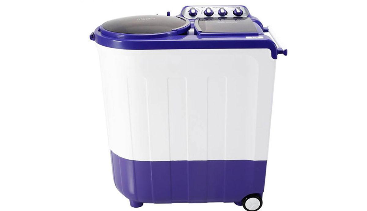 व्हर्लपूल 8  Semi Automatic महत्त्वाचे Load Washing Machine Blue (Ace 8.0 Stainfree)