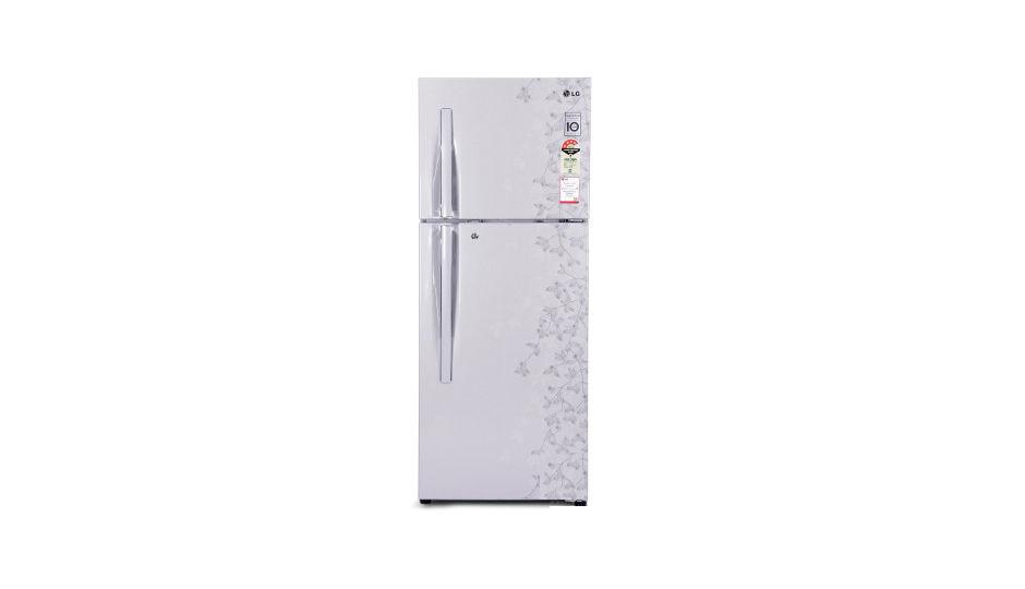 lg refrigerator double door. lg gl-d292rpjl 258 l double door refrigerator lg