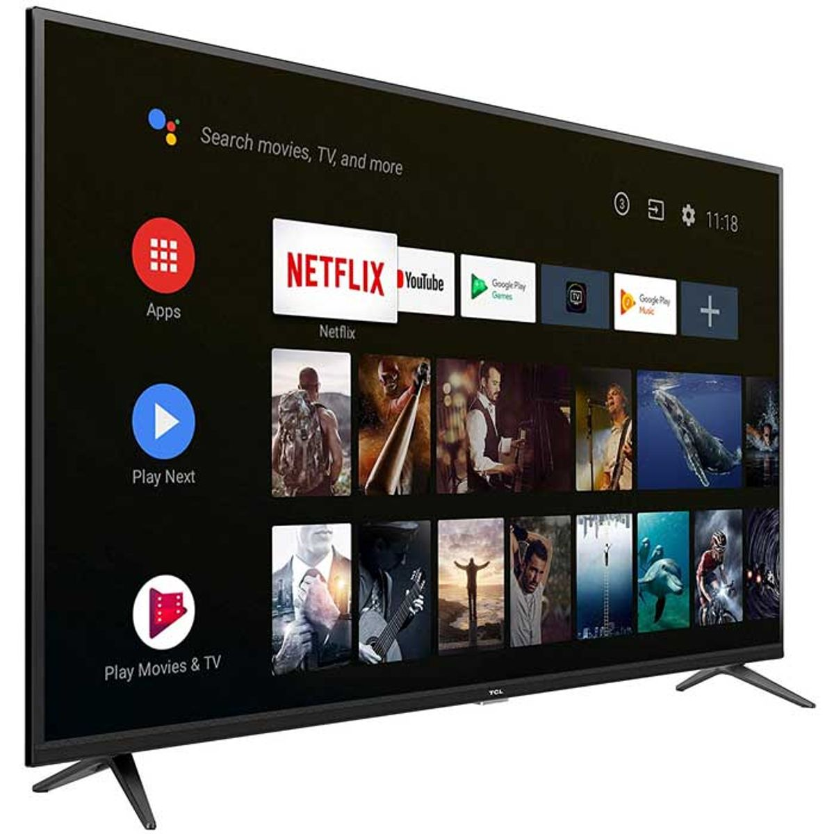 TCL 65 inches AI 4K UHD Certified Android Smart LED TV (65P8) TV Price in  India, Specification, Features | Digit.in