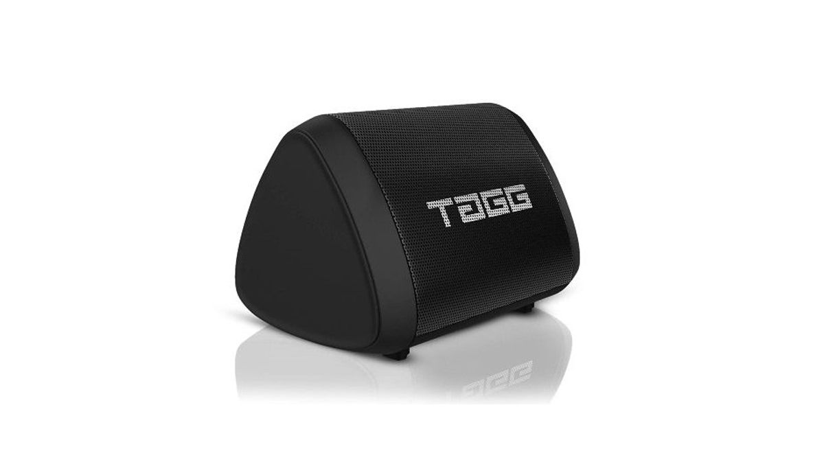 TAGG Sonic Angle Mini IPX7 Water Proof Wireless Portable Bluetooth Speaker