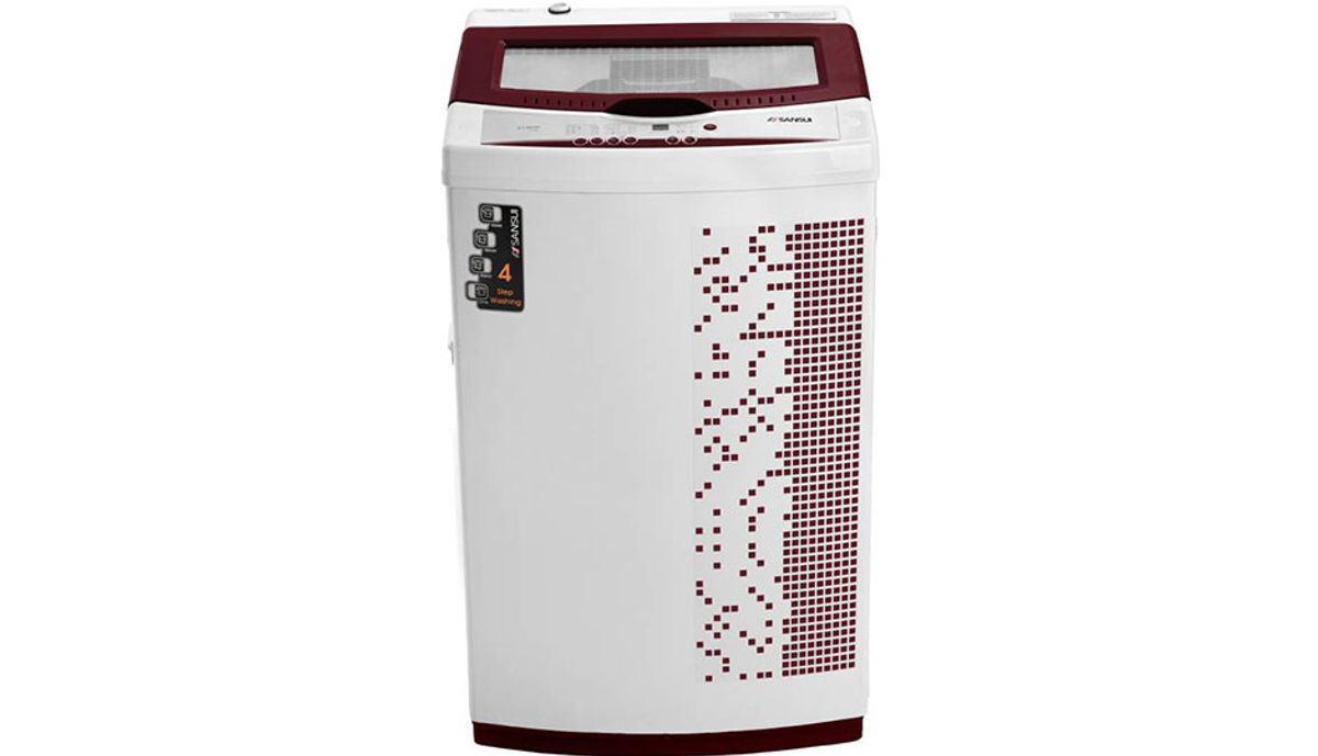 सॅनसुई 6.5  Fully Automatic महत्त्वाचे Load Washing Machine Maroon (ST65BS DMA)