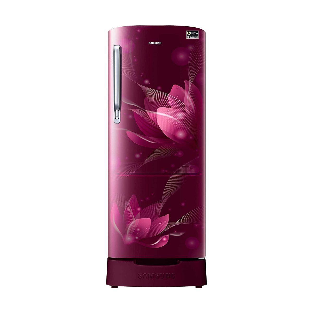 சேம்சங் 192 L 4 Star Single Door Refrigerator (RR20T182XR8/HL)
