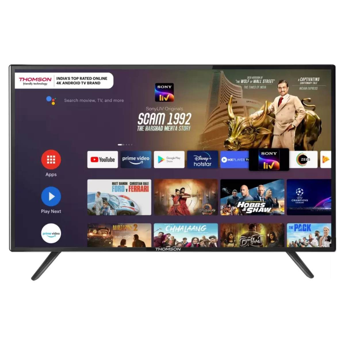Thomson 9R Series 50 inch 4K LED Smart Android TV(50PATH1010)
