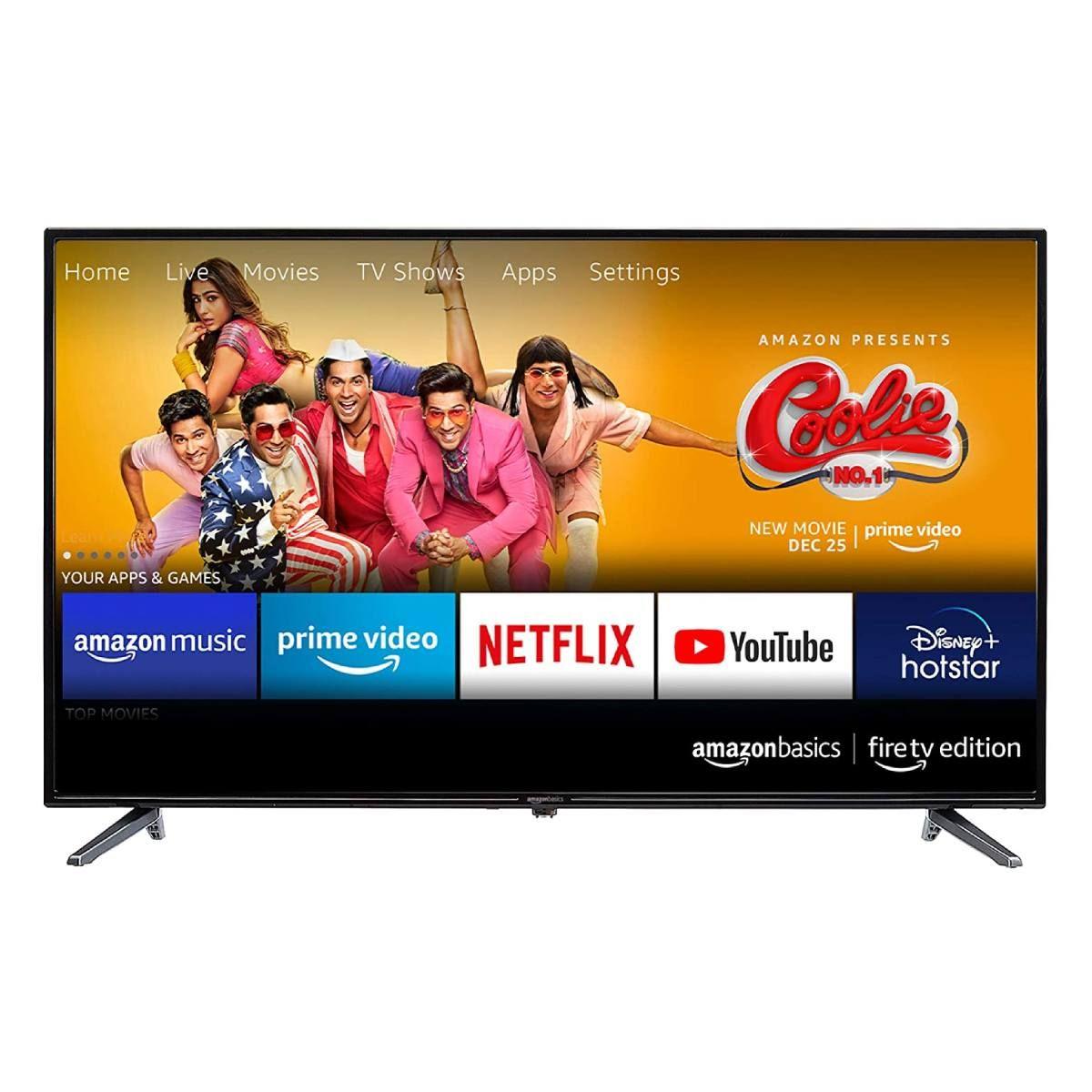 AmazonBasics Fire TV Edition 32-inch HD Ready LED TV