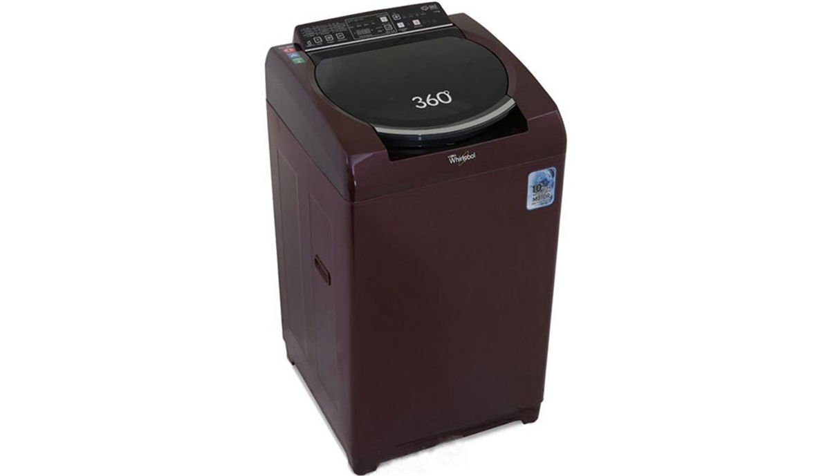 व्हर्लपूल 7.5  Fully Automatic महत्त्वाचे Load Washing Machine (360ï¾° Bloomwash Ultra 7.5)