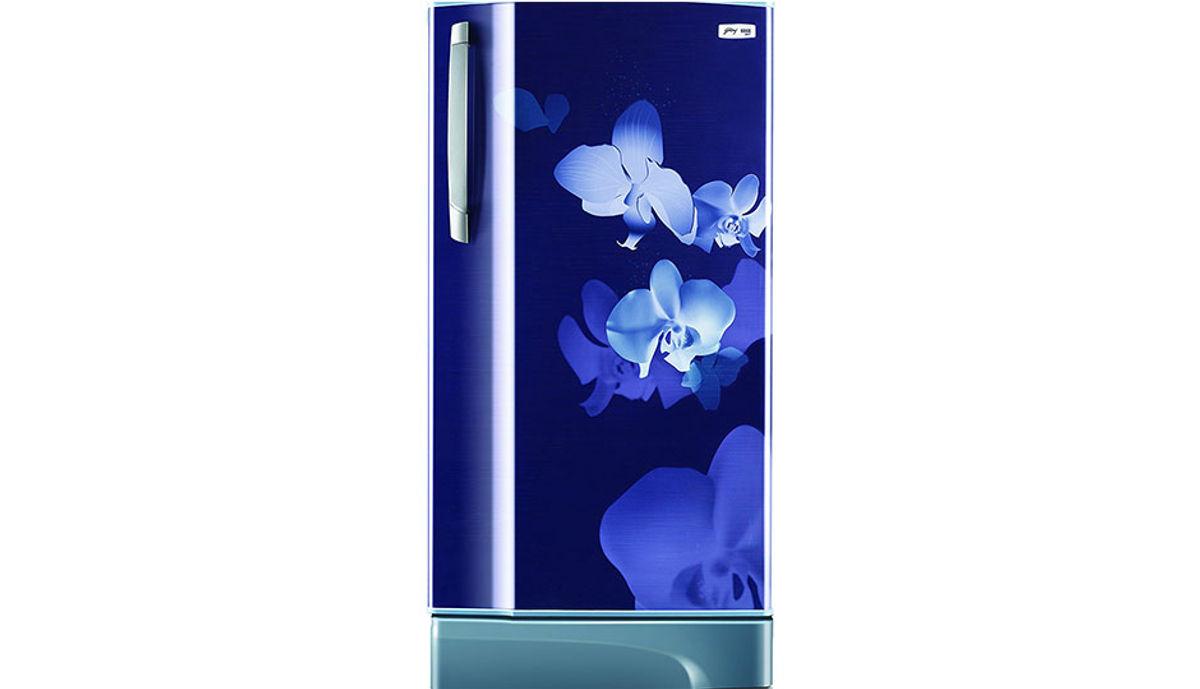 கோத்ரெஜ் 221 Ltrs Rd Edge Sx 221 Ct 5.2 Single Door Refrigerator ,Indigo Orchid