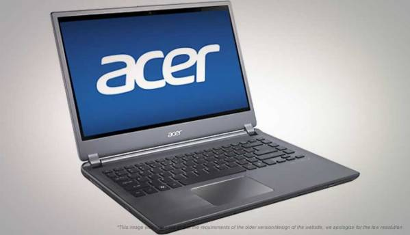 ACER ASPIRE M5-481T TELECHARGER PILOTE