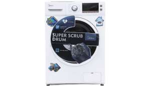 Carrier Midea 7  Fully Automatic Front Load Washing Machine (MWMFL070CPR)