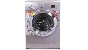 आईएफबी 6.5  Fully Automatic Front Load Washing Machine Silver (Senorita Aqua SX - 6.5 )