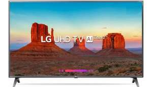 LG 108cm (43 inch) Ultra HD (4K) LED Smart TV 2018 Edition  (43UK6360PTE)