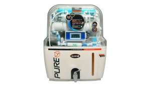Ruby AutoFlush 12 L RO+UV Water Purifier (White)