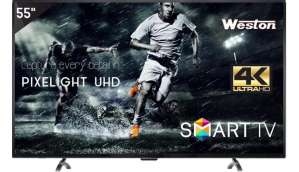 Weston 55 inch Ultra HD 4K LED Smart TV