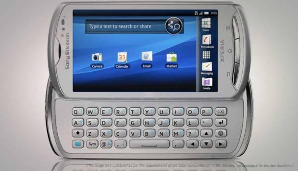 Compare Sony Ericsson Xperia Pro vs Xiaomi Mi A1   Digit in