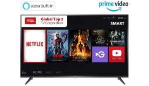 टीसीएल 50 इंच 4K Ultra HD Smart LED टीवी 50P65US-2019