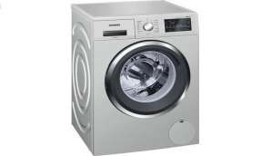 Siemens 8 kg Fully Automatic Front Load Washing Machine Silver  (WM14T469IN)