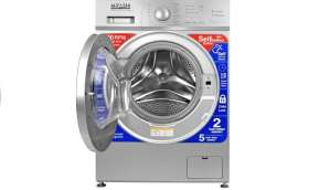 Mitashi 7 kg Fully Automatic Front Load Washing Machine with In-built Heater Silver  (WMFA700K100 FL)
