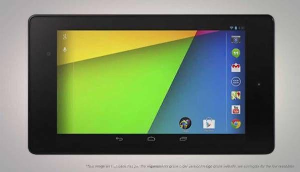 Google Nexus 7 (2013) tablet
