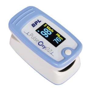 बीपीएल Medical Technologies पल्स 02 Finger पल्स Oximeter
