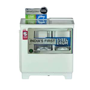 गोदरेज 8  Semi Automatic टॉप Load Washing Machine White (WS 800 PDS)