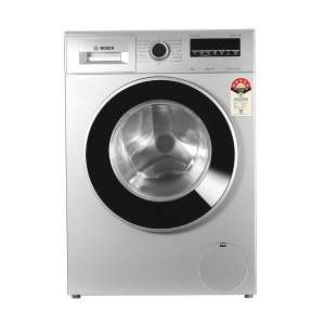 Bosch 8 kg Fully Automatic Front Load Washing Machine (WAT28461IN, White)