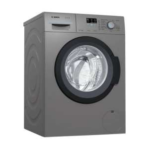 बॉश 6.5 kg Fully Automatic Front Load Washing Machine with In-built Heater Grey  (WAK2006PIN)