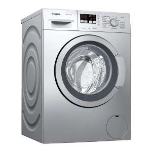 Bosch 7 kg Fully Automatic Front Load Washing Machine Grey  (WAK2416SIN)