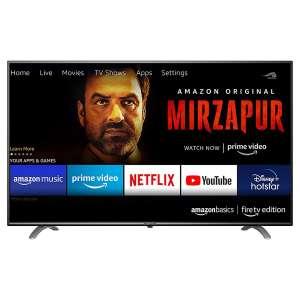 AmazonBasics 43 इंच Fire टीवी Edition 4K Ultra HD Smart LED टीवी (AB43U20PS)