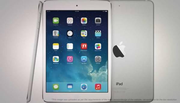 Apple iPad mini retina tablet