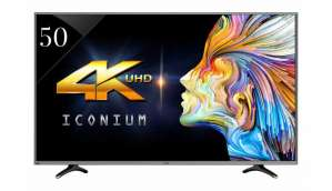 Vu Iconium 50-inch 4K Smart TV (LEDN50K310X3D)