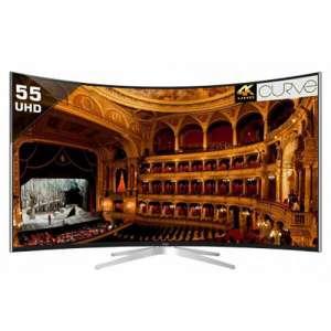 वियू 65 इंच Luxury Curved UHD Smart LED टीवी